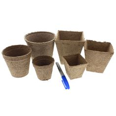 Jiffy Peat Pots - Biodegradable Pots