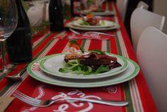 Christmas plates from Gustavsberg.