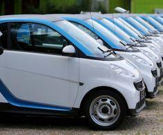 Die Autos von Car2go werden künftig in den Außenbezirken Düsseldorfs seltener zu sehen sein. Archiv