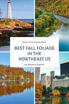 Looking for the best places to see fall foliage in the Northeast United States? This is just a handful of spots that will be bursting with colors once the autumn temperatures start to drop. #fallfoliage #fall #northeast #fallcolors