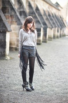 Betty Autier: Tassels and Fringes Inspired Style waysify