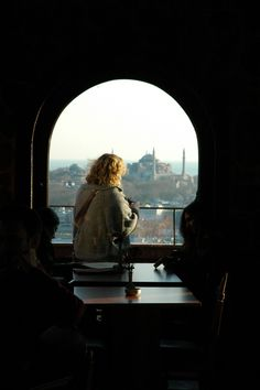 distant view of Ayasofya from Galata Tower in Istanbul: where I wish to be