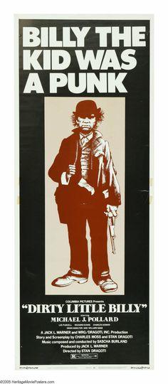 Dirty Little Billy (1972) Stars: Michael J. Pollard, Richard Evans, Lee Purcell, Charles Aidman, Gary Busey, Dick Van Patten, Mills Watson ~ Director: Stan Dragoti