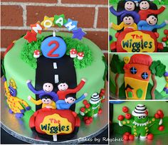 My Creative Way: The Wiggles Cake. Another awesome wiggles cake for inspiration