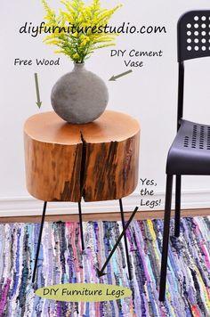 95 best diy furniture legs feet pedestals and bases images rh pinterest com