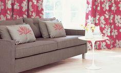 villa nova - sofa & cushions not curtains Ruby