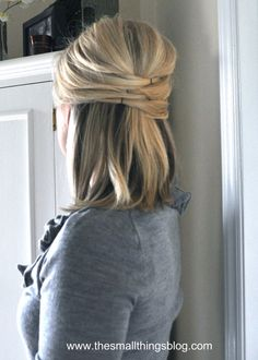 Easy Hairstyles For Short Hair!