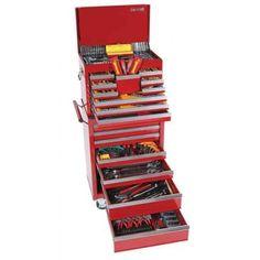 "Sidchrome 508 Piece 1/4"" , 3/8"" & 1/2"" Tool Kit - Metric & AF"
