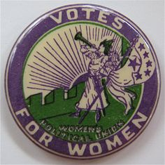 The Original Clarion Button Art Nouveau, Belle Epoque, Suffragette Jewellery, Suffrage Movement, Equal Rights, Women's Rights, Brave Women, Women In History, Strong Women