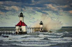 Lake Michigan Lighthouses   ... . Joseph Lighthouse, St. Joseph , Michigan by John McCormick on 500px