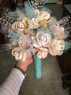 Handmade Seashell Bouquet                                                                                                                                                     More
