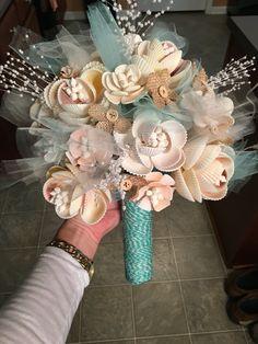 Handmade Seashell Bouquet                                                                                                                                                     More