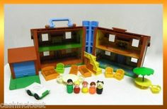 The original Fisher Price Play Family house.