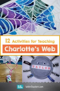 12 Activities for Teaching Charlotte's Web