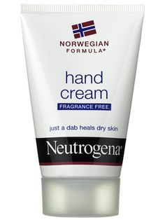 Neutrogena hand cream. This stuff changed my chapped, cracked hands into baby butt smooth is about two days. Fantastic.