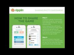 How to Share Photo Guessaroo! The First Rippln App