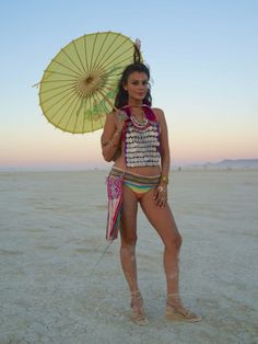 My Burning Man look 2014.  By Facehunter.