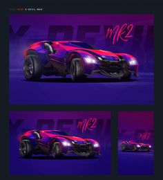 New: 4 Import Cars! Free Wallpaper Collection for the awesome Rocket League Community. Bubble Island, Import Cars, Futuristic Cars, Batmobile, Gta 5, Hot Wheels, Cool Cars, Behance, Racing