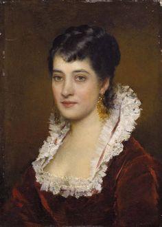 The Athenaeum - Portrait of a young woman (Eugene de Blaas - )
