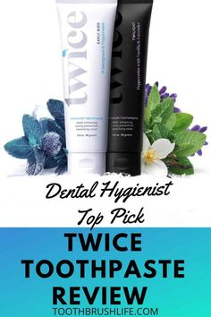 Twice toothpaste review plus twice coupon. Morning and night natural toothpaste by a dental hygienist. Get teeth whiter by just brushing you teeth! #toothpaste #toothbrushlife #whiteningtoothpaste #whiteteeth #teeth #dental Healthy Toothpaste, Best Toothpaste, Natural Toothpaste, Top Dental, Oral Health, Health Tips, Health Care, Tooth Sensitivity