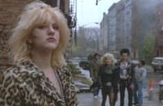 Courtney as Gretchen in Sid & Nancy. 1986.You can watch Courtney's audition tape here.
