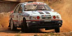 Miki Biasion is a former Italian rally driver and a double world rally champion. Ford Sierra, Ford Rs, Car Ford, Sport Cars, Race Cars, Rally Drivers, Ford Motorsport, Rally Raid, Hyundai Cars
