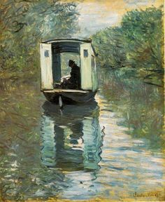 Monet. El atelier. 1876