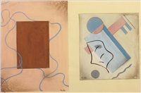 Compositions 2 works by Marcel-Louis Baugniet