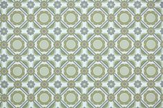 1970's Retro Wallpaper  Vintage Green Gray and by RetroWallpaper