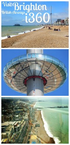 We went along to check out the brand new British Airways Brighton - the worlds tallest moving observation tower! Brighton I360, Plan A Day Out, Uk Beaches, London Blog, Modern Metropolis, British Airways, Old City, Days Out, Towers