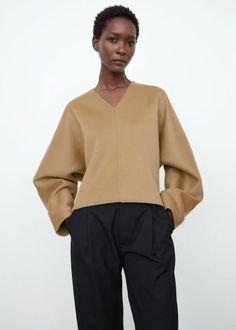 Cashmere Fabric, Fall Winter Outfits, Casual Fall, Capsule Wardrobe, Camel, Pullover, Clothes For Women, Sweaters, How To Wear