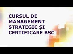 Cursul de Management Strategic si Certificare in BSC