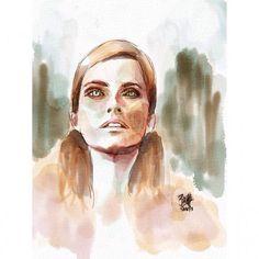 Auryn Ink on iPad #aurynink #digitalwatercolor #watercolor