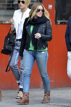 Hilary Duff out in New York City, New York- May 1, 2013