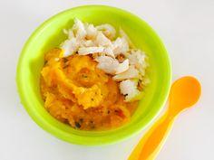 Poisson blanc et sa purée de patate douce à la courgette - une recette Régalez Bébé ! Du poisson blanc accompagné d'une purée de patate douce à la courgette, un régal pour tous les bébés amateurs de saveur sucrée-salée ! Cette recette pour bébé de purée de courgette et patate douce,  au goût légèrement sucré s'accommode parfaitement avec du poisson mais aussi avec de la volaille pour un repas complet ou sans protéines pour un dîner plus que parfait pour bébé !