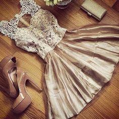 Champagne short prom dress,party dress,summer dresses