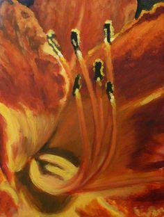 Ľalia  Akryl na plátne, 50x40 Painting, Art, Art Background, Painting Art, Kunst, Paintings, Performing Arts, Painted Canvas, Drawings