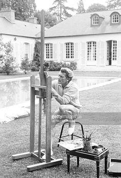 lot : jean marais (1913-1998) - quatre profils ajourés - vase