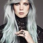 Edgy Hairstyles for Long Hair with Gray Hair Color