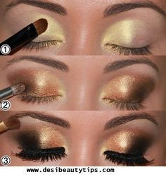 Dramatic Eye Make up