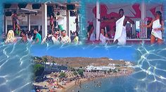 From Tropicana to Guapaloca, every beach corner and party covered. Paradise Beach is one of the most famous all around the world for more than 46 years. Club Mykonos, Paradise Beach Resort, Rooms To Let, Beach Camping, Beach Bars, Hotel S, Greek Islands, Gopro
