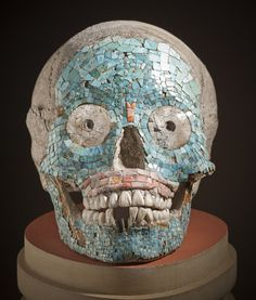 Skull  Mixtec, 1400-1521  The Los Angeles County Museum of Art