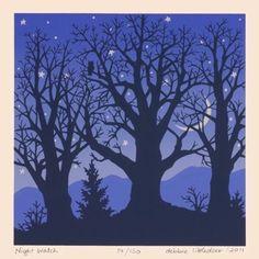 Night Watch by Debbie Littledeer of Micaville, NC.