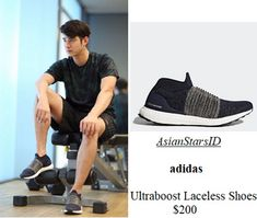 IG - Mario Maurer: adidas Ultraboost Laceless Shoes $200 Photo: @mario_mm38, @adidas  For more and/or where to buy this item, visit asianstarsid.com  #mario_mm38 #adidas #mariomaurer #fashion #thailand #th #actor #channel3 #asianstarsid #footwear #ultraboost #shoes #sneakers
