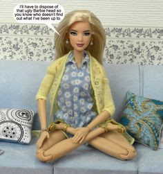 """2016 Barbie Made to Move doll has 22 """"joints"""" for an incredible range of motion Play Barbie, Barbie Life, Barbie And Ken, Barbie Dolls, Dollhouse Clothing, Made To Move Barbie, Barbie Style, First Daughter, Barbie Friends"""