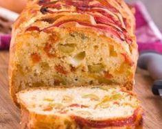 Cake tomate mozzarella et olives : http://www.fourchette-et-bikini.fr/recettes/recettes-minceur/cake-tomate-mozzarella-et-olives.html