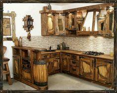 Cabinets Western Kitchen Dresser Shelves Dream Kitchen