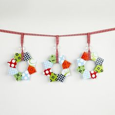 Origami Wreath Garland - not in English