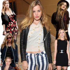 O estilo da fashion girl Georgia May Jagger, filha de Mick Jagger é rocker e descolado