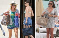#Beach #Bags: #Leve #tudo #lá #dentro   #BeachBags #summer #trendy #sacosdepraia #acessório #indispensável #look #PurseBlog #praia